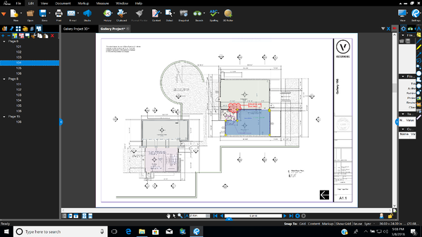 Integration Bluebeam Studio in Vectorworks 1