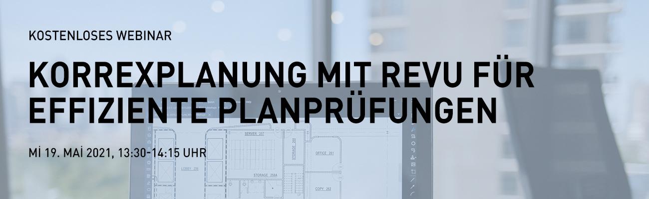 Korrexplanung mit Revu für effiziente Planprüfungen