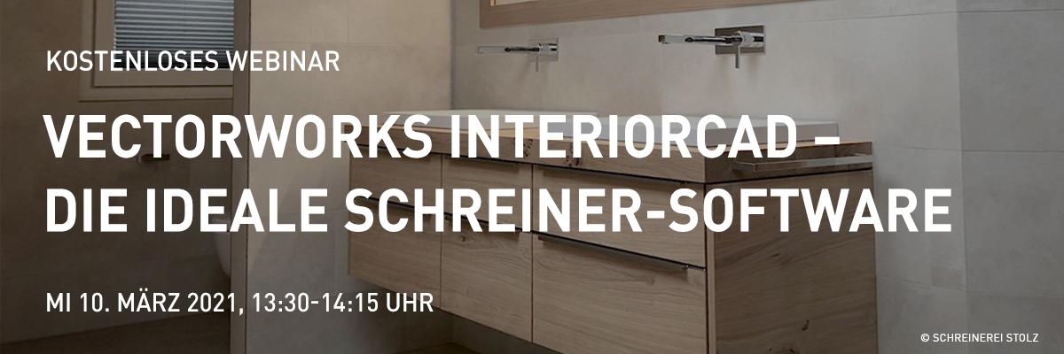 Vectorworks interiorcad – Die ideale Schreinersoftware